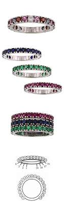 ring with children s birthstones birthstone band for each of my children to wrap around my wedding