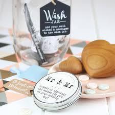 Wedding Wishes Jar Mr And Mr Wish Jar By Nest Notonthehighstreet Com
