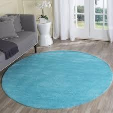 safavieh vintage turquoise multi 6 ft x 6 ft round area rug