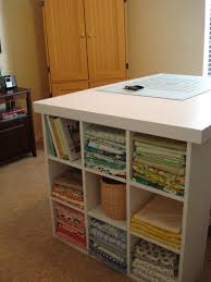 Quilting Cutting Table by Chestnut Sparrow Cutting Table With Storage You Can Make One Too