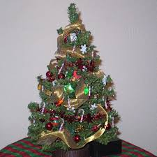 live decorated tabletop trees delivered tree