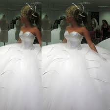 poofy wedding dresses 2017 bling bling big poofy wedding dresses plus size tulle