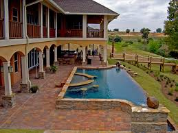 pool deck pavers outdoor kitchens paver patios fireplaces
