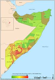 Map Of Somalia Consequences Of Ongoing Civil Conflict In Somalia Evidence For