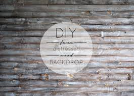 How To Whitewash Wood Walls by Diy Faux Distressed Wood Backdrop Brepurposed