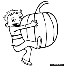 fall coloring pages 1