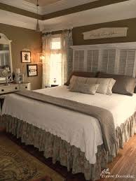 Country Bedroom Ideas Bedroom Design Shutter Headboards Country Bedroom Decorating
