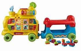 amazon black friday toy trains sale amazon com vtech sit to stand alphabet train toys u0026 games