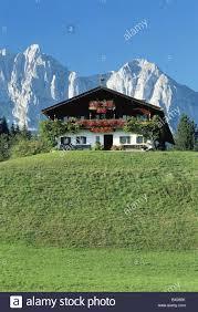 Haus E Ackerlspitze Alpen Bauernhof Haus Hause Kaisergebirge Kitzbühel