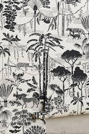 aimee wilder wallpaper anthropologie jungle dream wallpaper