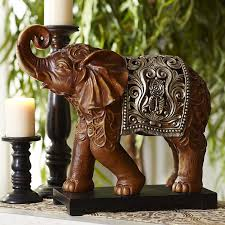 indian imports home decor carved elephant pier 1 imports home decor pinterest
