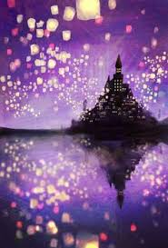 diy tangled lantern lamp sparkly han rm