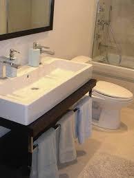 Narrow Bathroom Sink Best 25 Small Narrow Bathroom Ideas On Pinterest Narrow