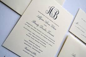 monogram wedding invitations classic monogram wedding invitations jpress designs letterpress