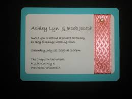 Wedding Invitation Insert Cards Sample Insert Ceremony Card Beautiful Invitations