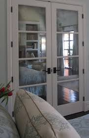 Interior French Closet Doors by Mirrored French Doors For Closet Home Design Ideas