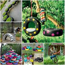 10 diy tire decoration ideas for your garden 1001 gardens