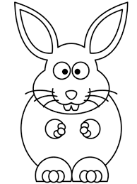 cartoon bunny coloring free printable coloring pages