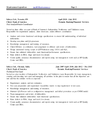 Resume Objective For Quality Assurance Analyst Quality Assurance Resume Aircraft Maintenance And Quality
