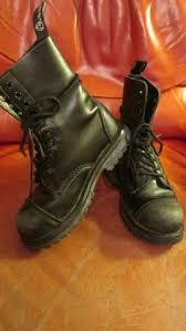 womens combat style boots size 12 vintage combat boots corcoran paratrooper s size 12