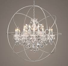 Orb Chandeliers 45 Ideas Of Orb Chandelier With Crystals