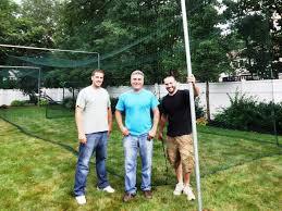 backyard ideas awesome backyard batting cages backyard batting