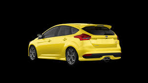 ford focus st yellow 2017 ford focus st prevents mellowing out with yellow paint