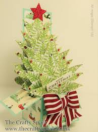 christmas tree card in a box stampin up uk part 1 youtube