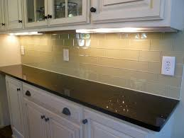 Kitchen Backsplash Glass Tile Ideas by Brilliant Kitchen Brown Glass Backsplash Of Painted In Pictures