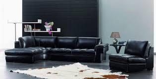 Ultra Modern Sofa by Ultramodern Dark Living Room Furniture Set Black Leather Sofa