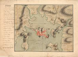 map of boston harbor during the revolution american colonial