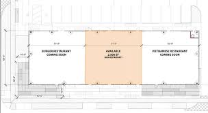 Strip Mall Floor Plans The Strip Center Setup At The Corner Of Mandell And W Alabama