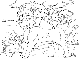 excellent lion coloring pages best coloring ki 1153 unknown