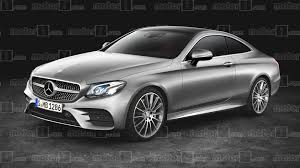 2018 mercedes e class coupe gets rendered