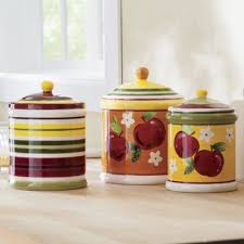 apple canisters for the kitchen 3 piece apple canister set apples pinterest canister sets