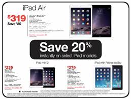 staples black friday save 20 on air retina mini apple tv