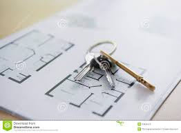 Home Blue Print by Blueprint Of Home And Home Keys Stock Image Image 15402121
