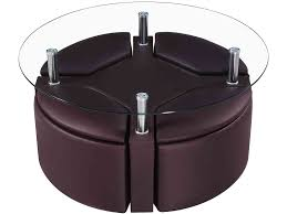 square coffee table with stools underneath coffee tables thippo