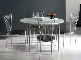 table de cuisine ronde en verre table ronde cuisine design table ronde cuisine design table en bois