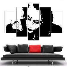 not framed canvas wall art pictures prints home decor batman joker