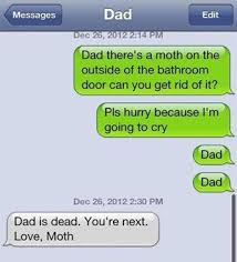 Text Message Meme - text message meme 029 moth in the bathroom funny text messages