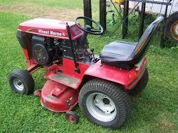 wheel horse garden tractor the gardens