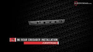 1991 jeep comanche specs and jcroffroad mj comanche rear crusader bumper installation youtube