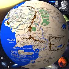 Map Of Mordor Full Middle Earth Map Map Middle Earth From Lord The Rings