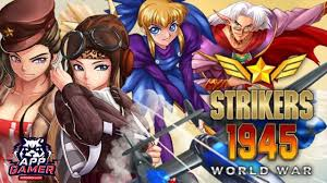 strikers 1945 apk strikers 1945 world war gameplay android