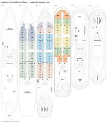 carnival cruise ship floor plans seabourn spirit deck plans diagrams pictures video