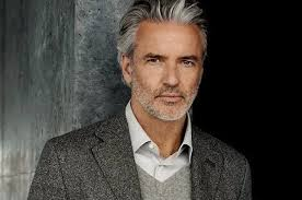 hairstyles for men in their twenties with grey hair grey hair turn your greying locks into a silver fox men s grey