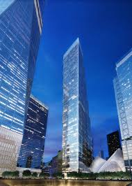 developer undecided between big or foster u0027s two wtc tower