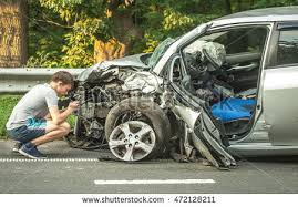 car accident image crashed cars driver stock photo 472128211
