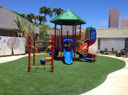 creating a safer playground in hawaii synthetic turf